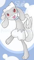 Silver the Riolu by alexiakhodanian