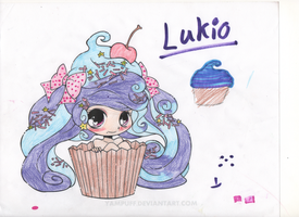 Lukio the Human Cupcake! by Almost-Nameless