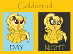 MLP/FNAF +CHILD OF GOLDEN FREDDY AND LOVECRAFT+ by gothkittykat