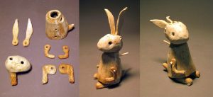 Jointed Figures - Rabbit by fightingferret