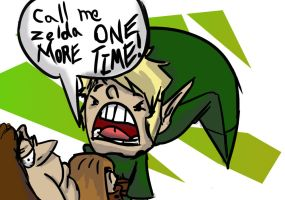 CALL ME ZELDA ONE MORE TIME. by JamesK-SONICFAN