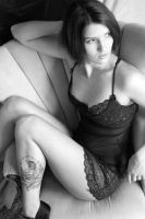 Betsy Black and White II by CogentContent