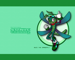 Sonic Channel -- Buzz Demoiselle by StarXrossed