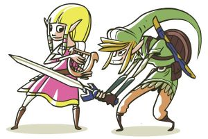Two Heroes: Skyward Sword by FlashBros