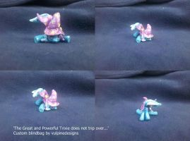 MLP FiM custom blindbag: Trixie falling over! by vulpinedesigns