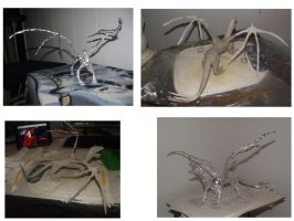 Trying to make a sculpture progress 3 by Sandragon