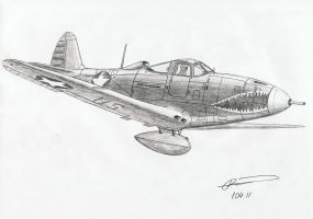 Bell P-39 (Airacobra) by GrafDeWolfGuN