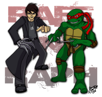 Rafe and Raph by Myrcury-Art