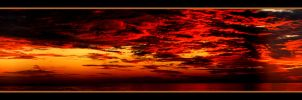 Fire In The Sky- Pano by TThealer56