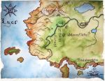 Map of Lyor by Bewildermunster