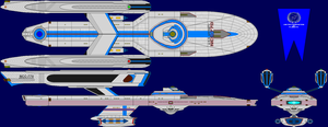 USS Affinity Refit Multi-View by captshade