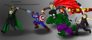 Avengers Assemble by Phantom-Panda