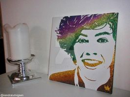 Harry Styles glitter by ludvigsen