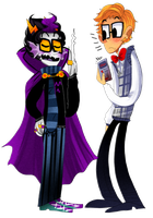 Clive and Eridan by zamii070