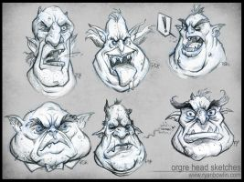 Ogre Heads by RynoZebz