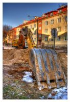 Excavator... by mysterious-one