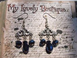 Victorian Blue by TheLovelyBoutique