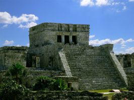 Tulum Main Temple 163 by aurora900