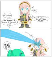 Vocaloid 2: Luka's Headphone by unknownlifeform