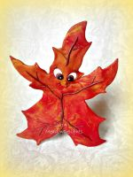 Happy Autumn Leaf! by MeadowDelights