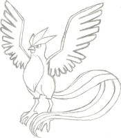 Articuno Sketch by CoolMan666