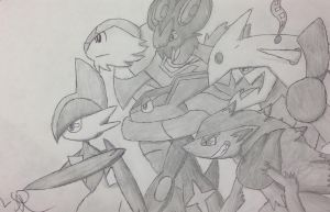 PokeAmino Team Request 2 by JudgeChaos