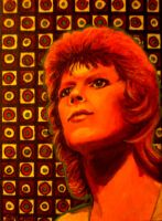 David Bowie: Ziggy Stardust by asamamoru