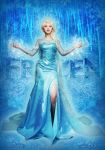 elsa ice queen dress by michivvya