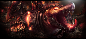 Chaos Renekton Signature by ViciousBlue