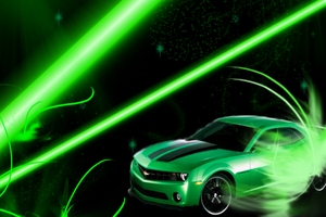 Chevy Camaro Wallpaper by SlaveWolfy