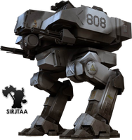 Battlefield 2142 Render Mech 2 by Jtaa