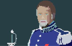 Pixelated Crowe As Javert by TheDizzyDan