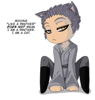 Hisoka is a Snarky Chibi by TerriDelgado