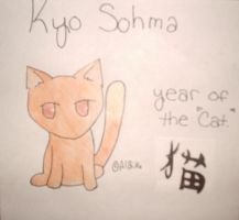 Kyo Sohma from Fruits Basket by AlbinoTheUmbreon