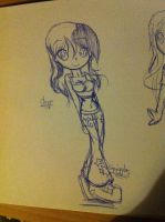 Anime body thingo...emi o3o by EmilyBlueStar