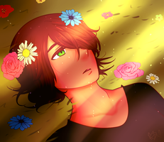 [OC] Wake me up once spring arrives by Chaotic-Senpai