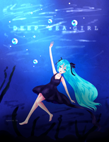 Miku Hatsune DEEP SEA GIRL by nyantsu