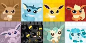 Eeveelutions LPS Style by Marki-san-Design