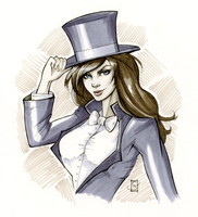 Zatanna by ColletteTurner