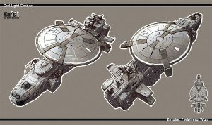 Owl Light Cruiser by KaranaK