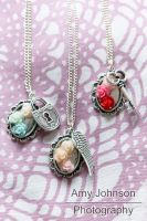 Necklaces {FOR SALE} by Rockabell-Neko