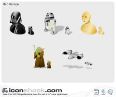 StarWars Icons by Iconshock