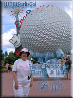 Deviant ID - me at Epcot by WDWParksGal