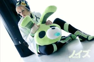 Ruff rabbit Noiz by silkybean