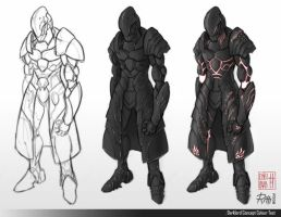 Darklord Concept - Colour Test by darthrith