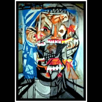 After George Condo  2 (variations on cubist faces  by cvisuali