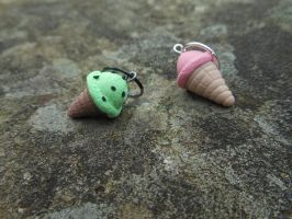 Ice Cream Charms by Pupycat1