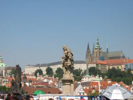 View from the Charles Bridge by Kathofel
