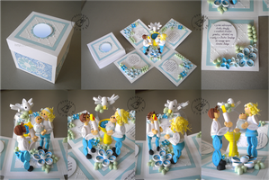 Quilling - Christening Box by Eti-chan