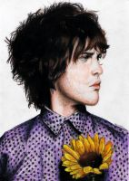 Andrew Vanwyngarden Colored Pencils by feliciabe